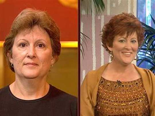 Caveman Makeover On Today Show : North escambia woman gets complete makeover on nbc s today