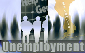 Escambia County Unemployment Rate Slips