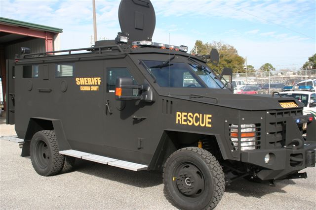 Sheriff SWAT Vehicle