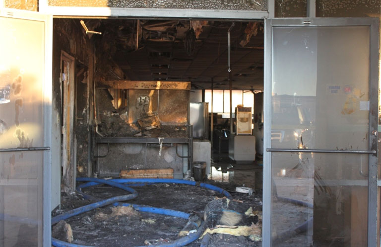 world ford fire ruled arson. Black Bedroom Furniture Sets. Home Design Ideas