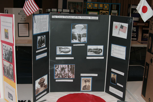 Ernest Ward Students Explore Past With National History