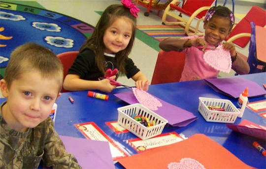 camp fire kids create valentine u2019s cards for vets  with