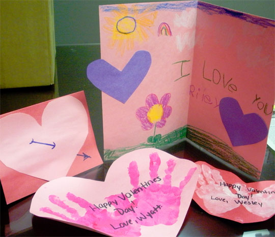 Camp Fire Kids Create Valentines Cards For Vets With Gallery – Create Valentine Cards