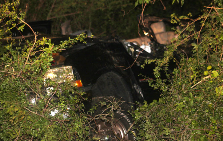was killed in a single vehicle accident Thursday night in Cantonment