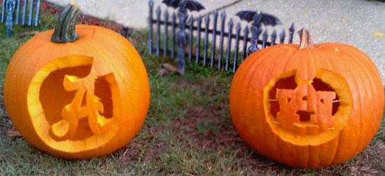Alabama Vs Auburn Pumpkins Northescambia Com