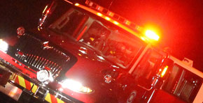 Lightning Sparks Molino House Fire, One Injured