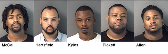 Five Arrested In Joint Undercover Drug Operation