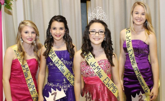 Junior Miss Pageant 2012