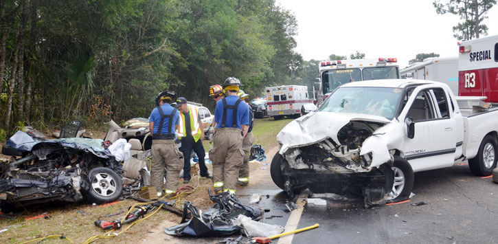 Three Injured In Serious Traffic Crash (With Photo Gallery