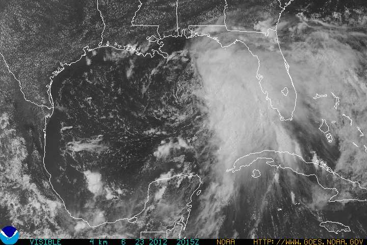 Tropical Storm Debby Forms In Gulf : NorthEscambia.