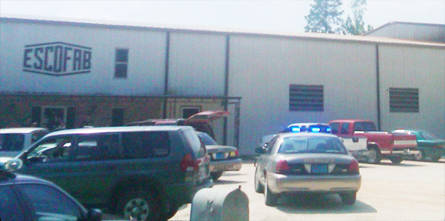 Baldwin County High Speed Chase Ends At Atmore Business