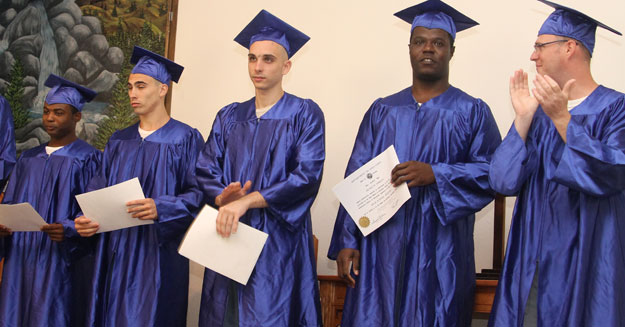 century ci inmates graduate with ged ready to work thinking for a