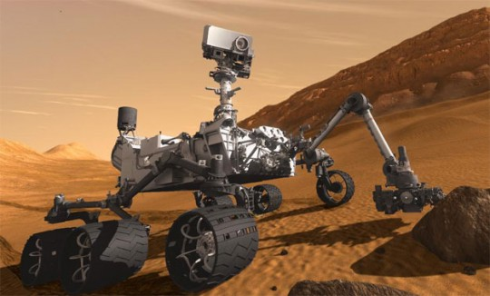 NASA Rover Lands On Mars; Beams Back First Photos ...