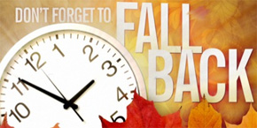 Time Change: Fall Back, Replace Smoke Alarm Batteries