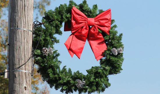 Christmas Bows For Wreaths
