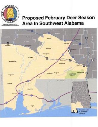 Deer Rut Heat Map on