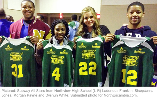 All Star Basketball: Escambia County's West Beats East ...