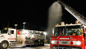 Nokomis Residents Receive Lower Fire Insurance Rating, Better Protection