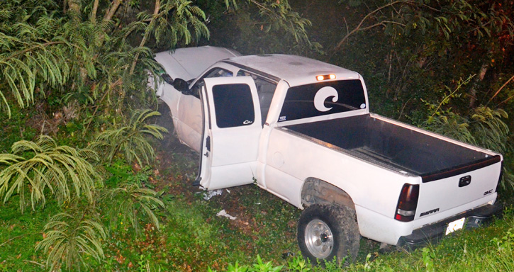 Gmc Sierra Accident >> One Injured In Cantonment Pickup Truck Wreck : NorthEscambia.com