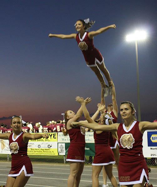Photos: NHS Cheerleaders, Mini-Cheerleaders, Band, Dance Team ...