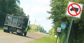 County To Enforce Truck Ban On Northern End Of Highway 95A