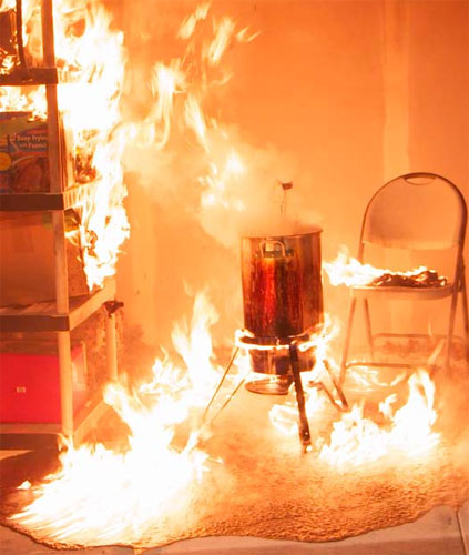 Fireplace Near Kitchen: Cook Safely This Thanksgiving To Prevent Kitchen Fires