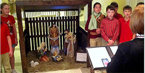 Nativity Scene On Display At Florida Capitol