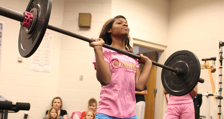Girls Weightlifting Northview Over Washington Jay Northescambiacom