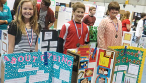 Ernest Ward Names Science Fair Winners