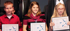 Elementary Students Honored As Shining Stars