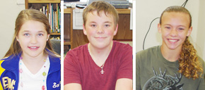 Ernest Ward Middle Names April Students Of The Month