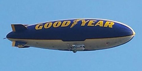 Goodyear Blimp Spotted Over North Escambia