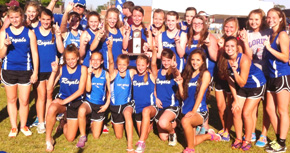 Jay Girls Track Takes District 1-1A Crown; Boys Finish Fourth
