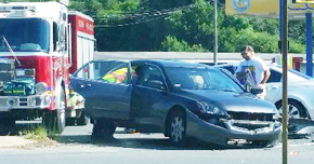 No Injuries In Cantonment Intersection Crash