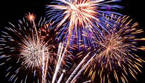 Schedule: Fourth Of July Activities, Fireworks