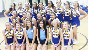 Ernest Ward Middle Cheerleaders Attend Summer Camp