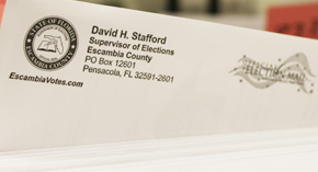Escambia Elections Ballots Are In The Mail