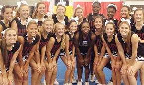 Varsity Northview Cheerleaders Attend Florida State Camp