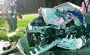 Highway 29 Wreck Claims One Life Near Cantonment