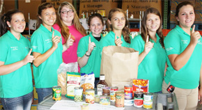 Escambia 4-H Horse Club Donates To Manna Food Pantries