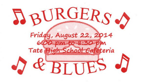 Burgers & Blues, Short Stacks To Benefit Tate Showband