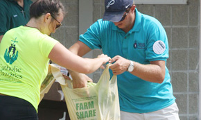Farm Share Provides Food For Families In Need