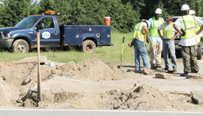 Repairs Begin On 'Major Public Safety Issue' Gas Leak Under Hwy 29