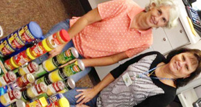 Tax Offices Collect Hundreds Of Pounds Of Food For Manna