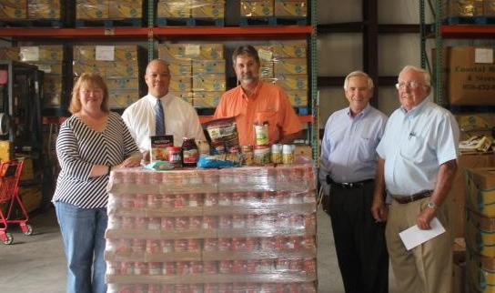 Escambia, Santa Rosa Farm Bureaus Donate 1.5 Tons Of Peanut Butter To