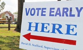 Early Voting Begins Today