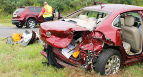 Four Injured In Highway 29 Crash In Molino