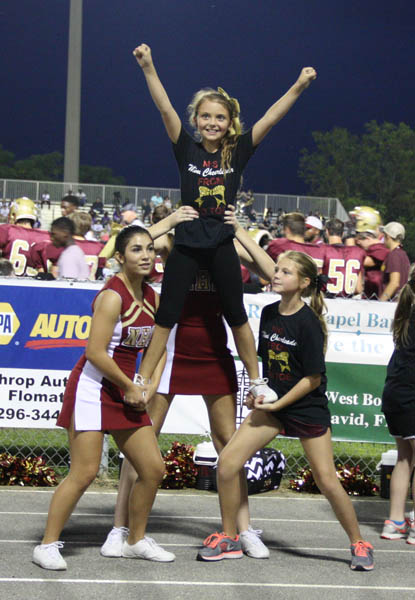 Cheerleading - Hooker Public Schools