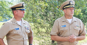 Molino Naval Officer Promoted To Lieutenant Commander