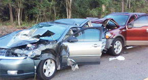 Two Seriously Injured In Pine Forest Road Crash